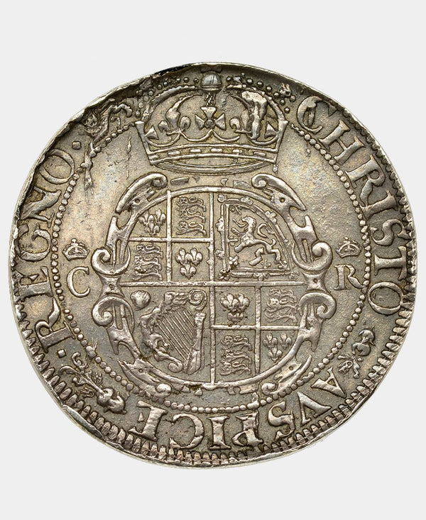 1643-4 CHARLES I YORK MINT HALFCROWN