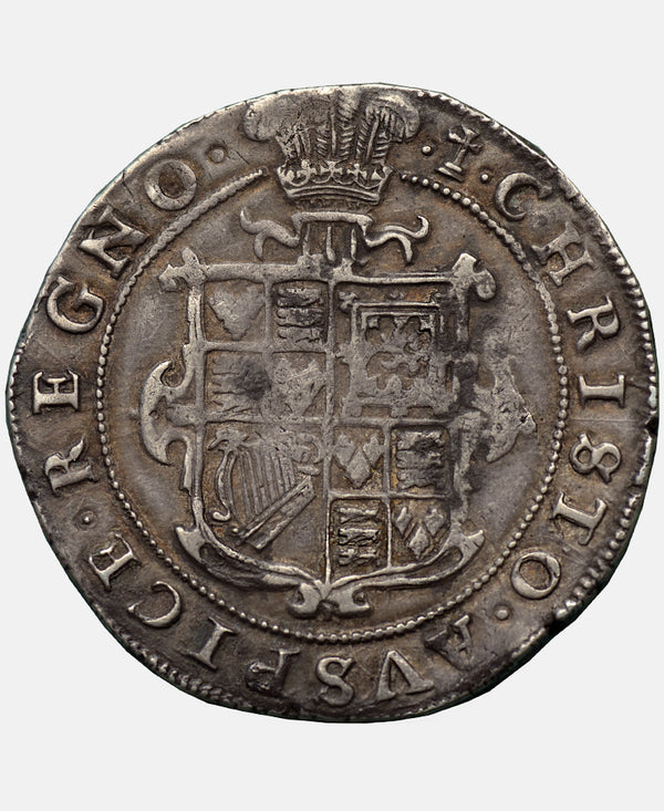 1626 Charles I Tower Mint mm Cross Calvary Type 1b Halfcrown