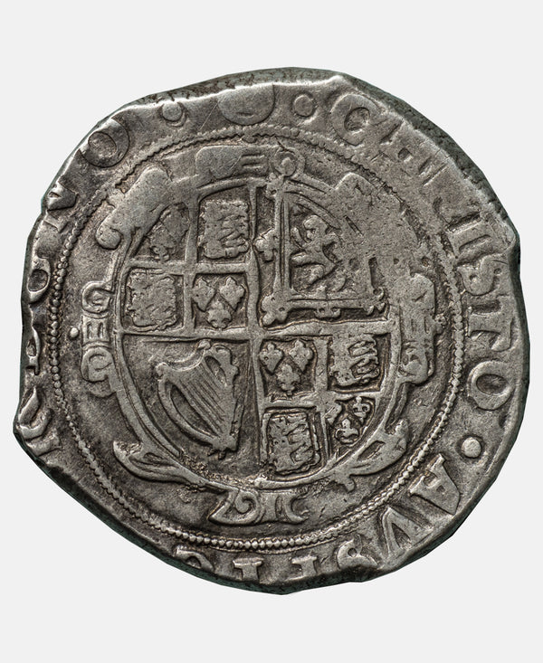 1641 - 43 Charles I Tower Mint mm Triangle in Circle Halfcrown