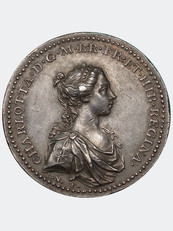1761 Coronation of Charlottle Medal