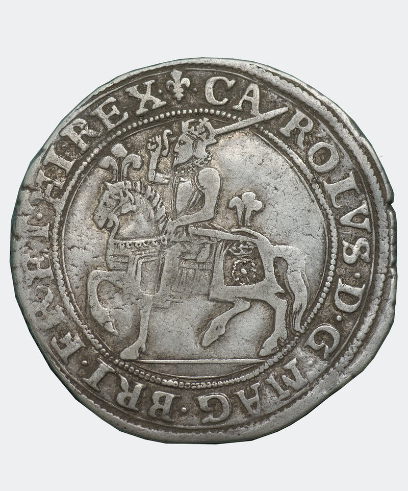1625 Charles I type 1a1 mm Lis Halfcrown - Mhcoins