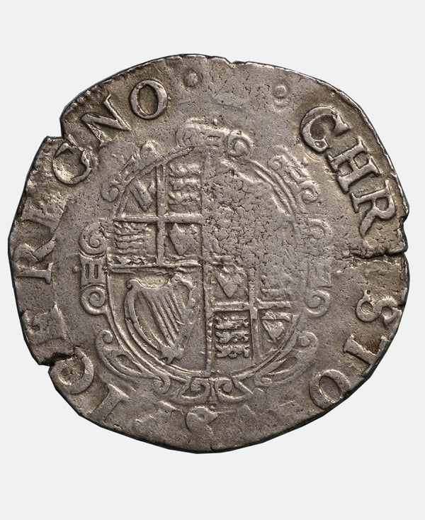 Charles I tower Mint mm Crown Shilling