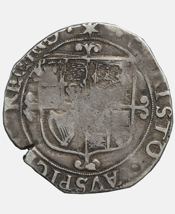 Charles I Tower Mint mm Star over triangle (both sides) Shilling