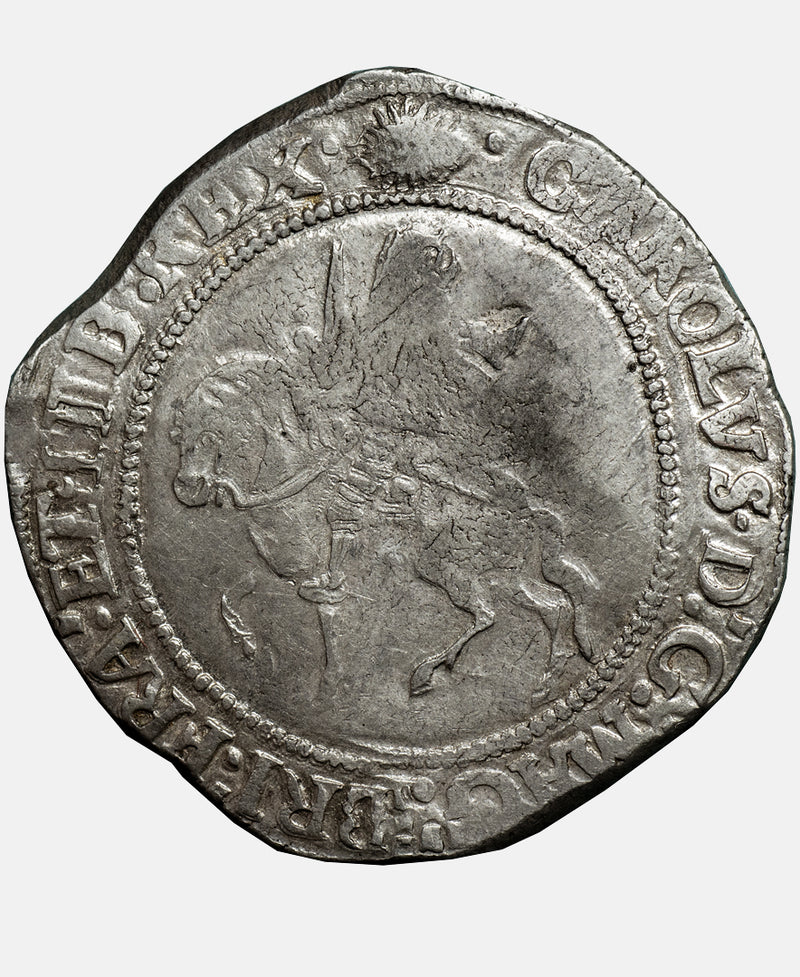 Charles I Tower Mint mm Sun over Eye Halfcrown