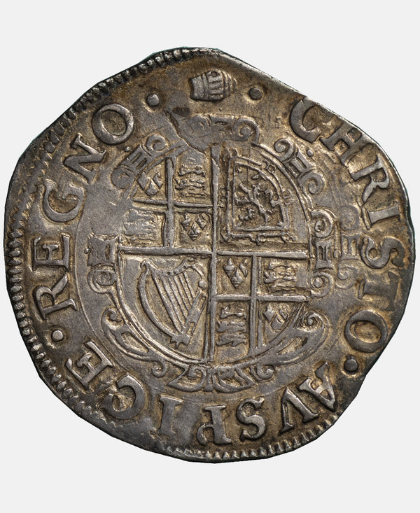 Charles I Tower Mint mm Tun Shilling