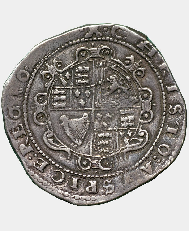 1645 Charles I Exeter Mint mm Castle Crown