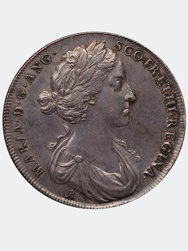 1685 coronation of Mary of Modena MEDAL - Mhcoins