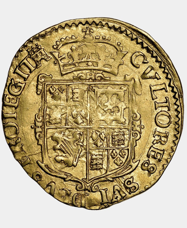1627-8 Charles I Tower Mint mm. Castle Double Crown - Mhcoins