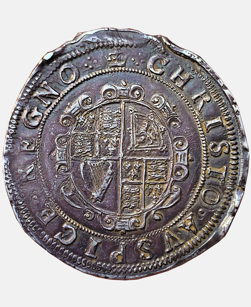 1635 - 6 Charles I Tower Mint mm Crown Halfcrown