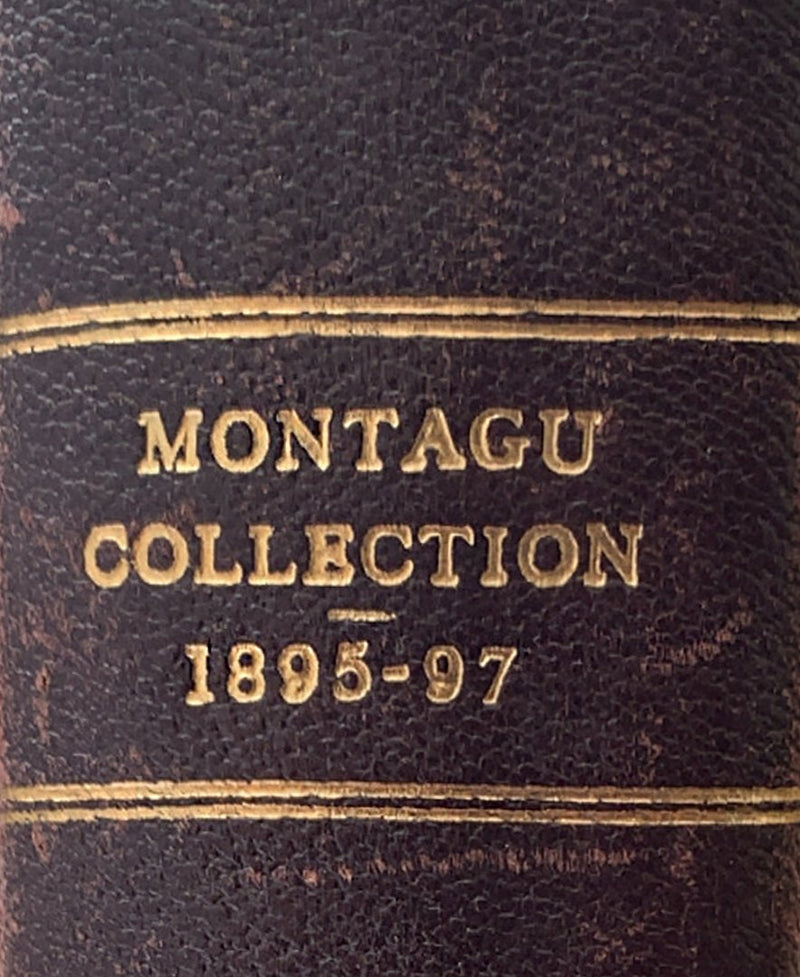 1895-97 Hyman Montagu Collection catalogue auctioned by Messer Sotheby Wilkinson and Hodge