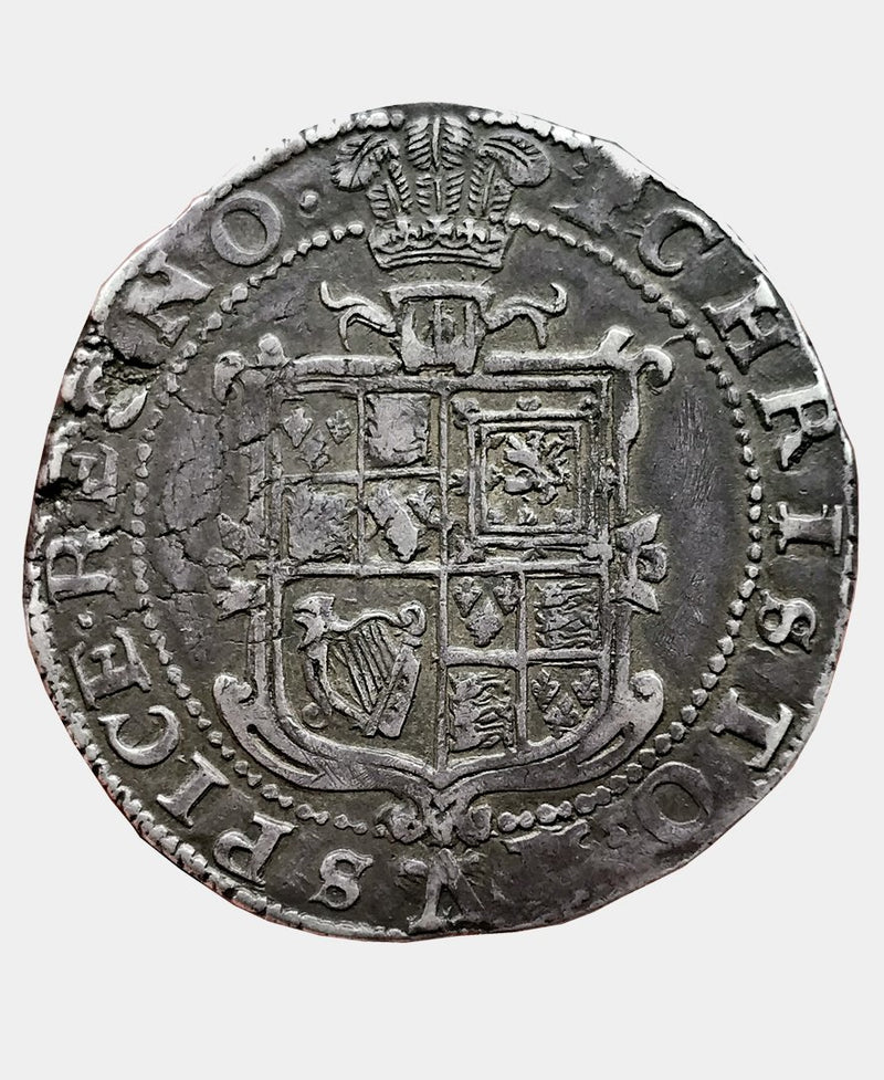 1626 - 7 Charles I Negros Head Halfcrown - Mhcoins