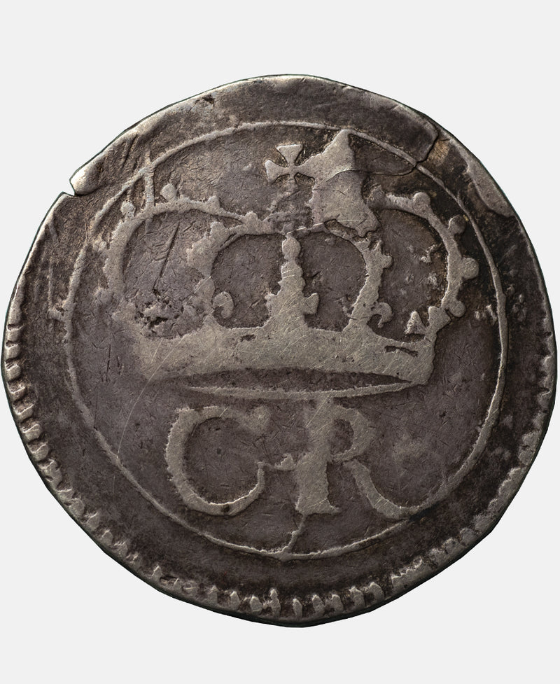 1643-44 Charles I Ormonde Issue Halfcrown - EX H M LINGFORD COLLECTION