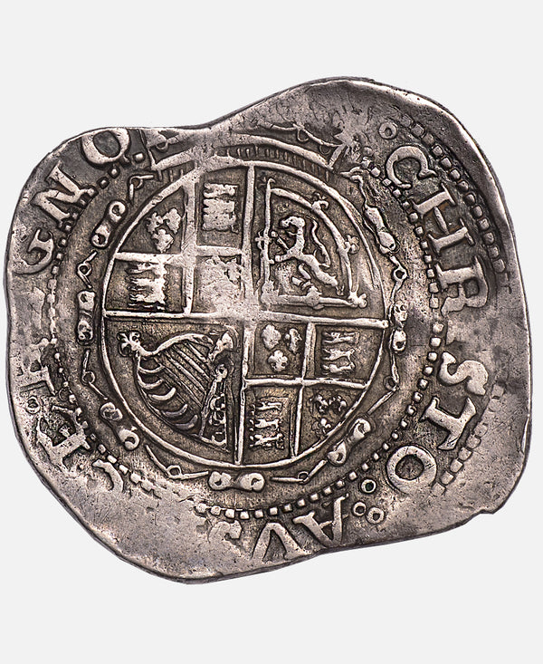 1645 Charles I Salopia Mint Halfcrown - Ex Colin Adams Collection