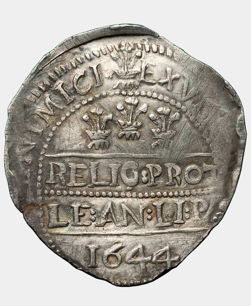 1644 Charles I Welsh Marches Halfcrown