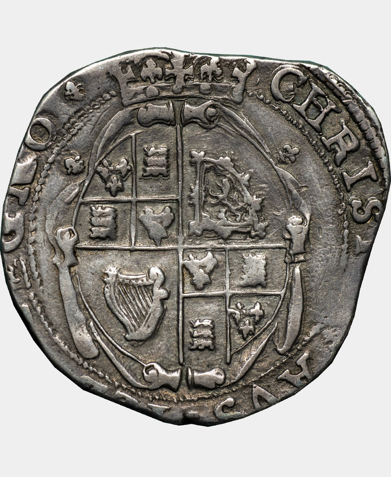1644 - 45 Charles I Worcester Mint mm lis Halfcrown