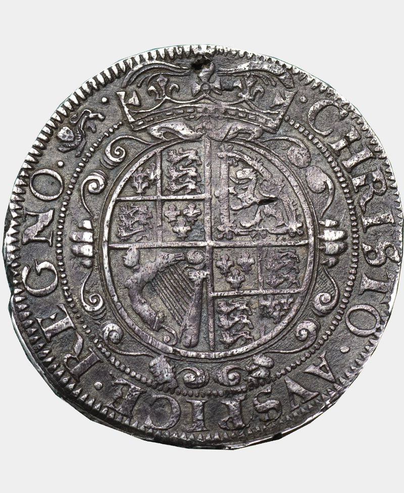 1643 - 4 Charles I York Mint TYPE 7 Halfcrown