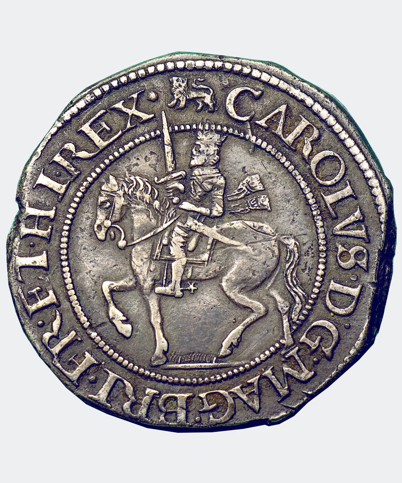 1643-4 Charles I York Mint Type 2 Halfcrown