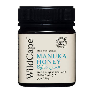 WildCape MGO 115+ Multifloral Manuka Honey
