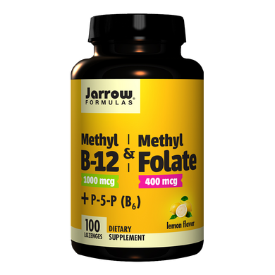 Methyl B-12 & Methyl Folate Lozenges