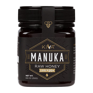 Kiva Certified UMF 20+ Raw Manuka Honey