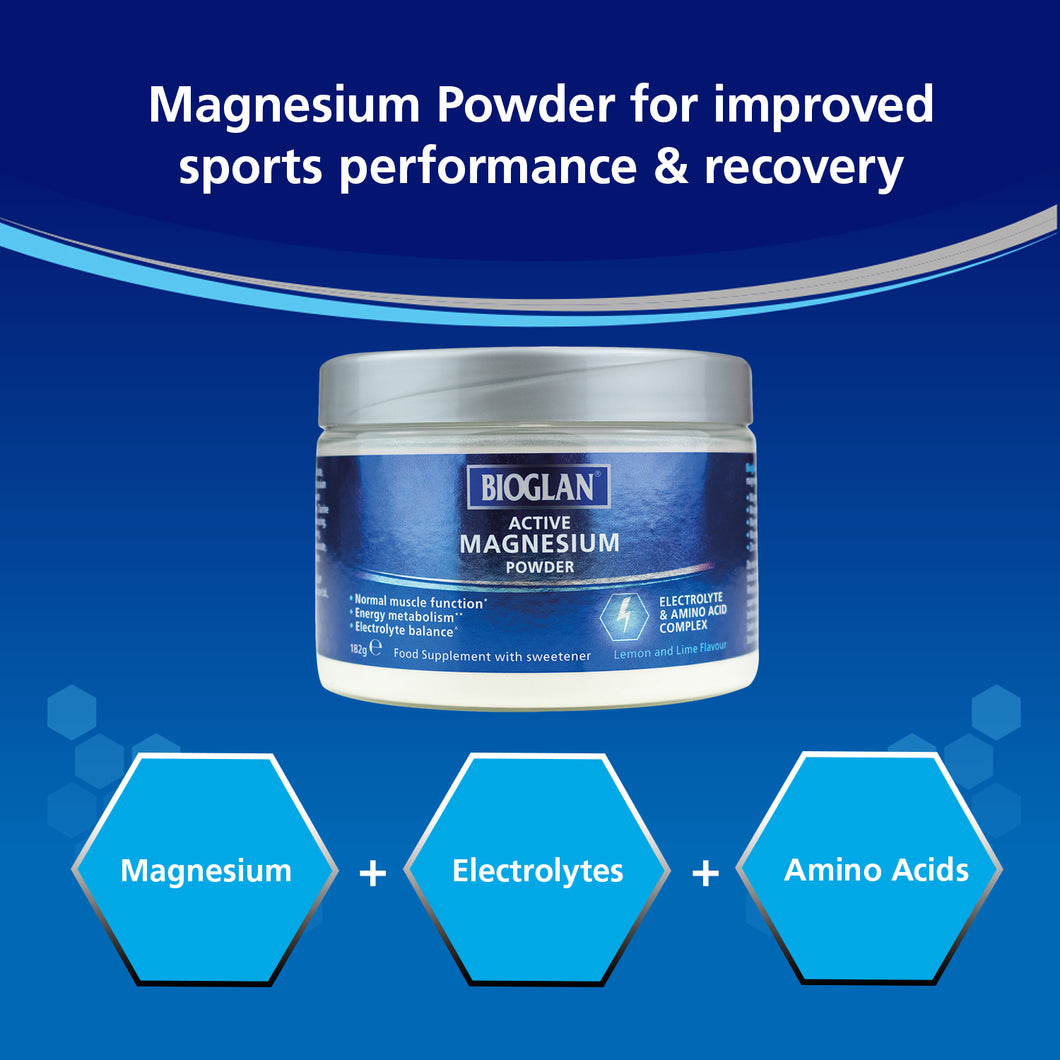 Bioglan Active Magnesium Powder 182 G