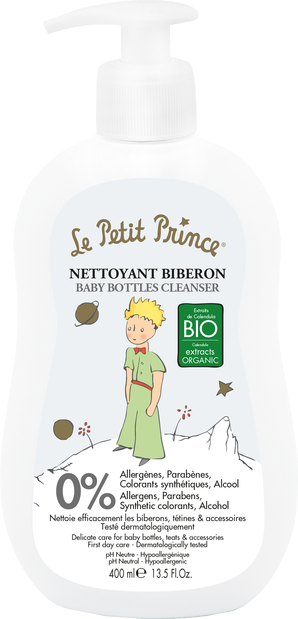 Le Petit Prince Baby Bottle Cleanser 400 ml