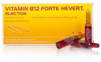 Vitamin B12 Forte Hevert Injection 10 Amps/Pack
