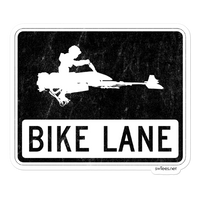Bike Lane Stickers
