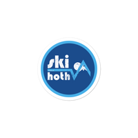 Ski Hoth stickers