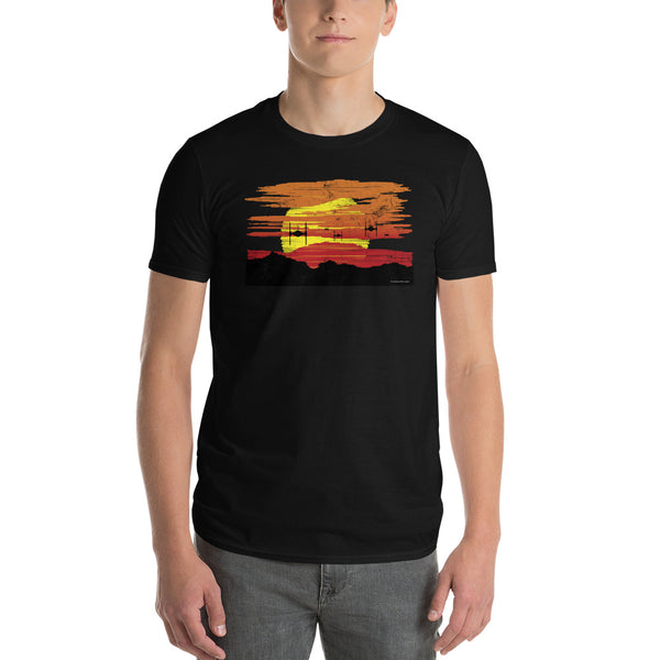Attack from Above T-Shirt | Unisex Lightweight