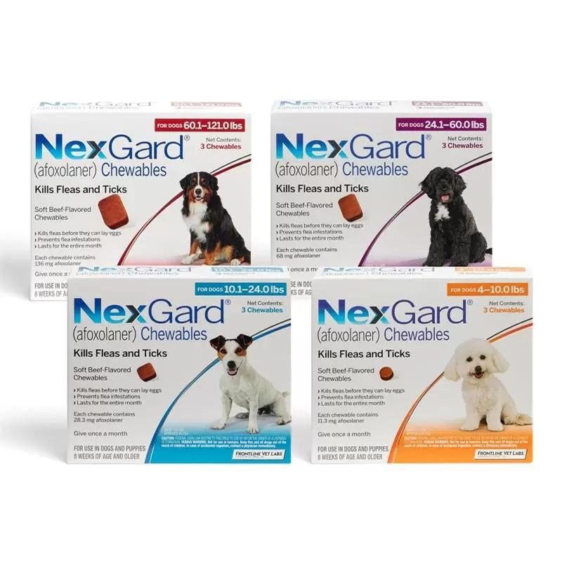 NexGard Chewables Tablets for Dogs Flea