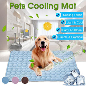 Pet Dog Cooling Summer Pad Mat Breathable Pet Bed For Dog Cat Puppy