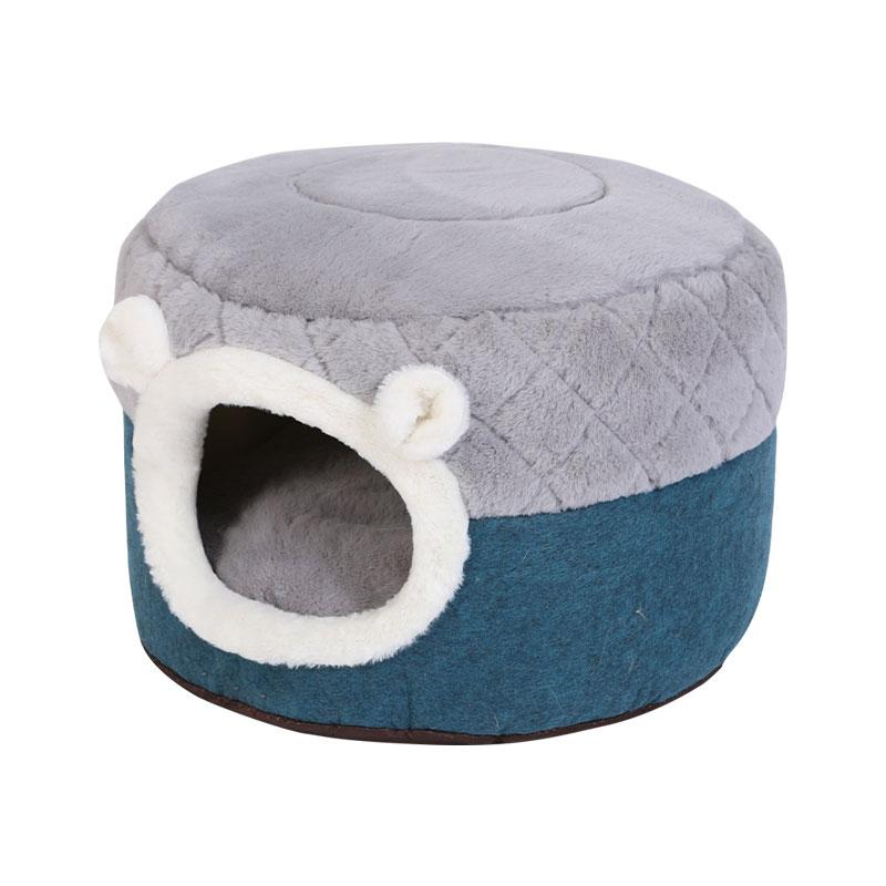 Cat Dog House Winter Warm Cave Sleeping Pet Bed Pet House Warm Puppy Home