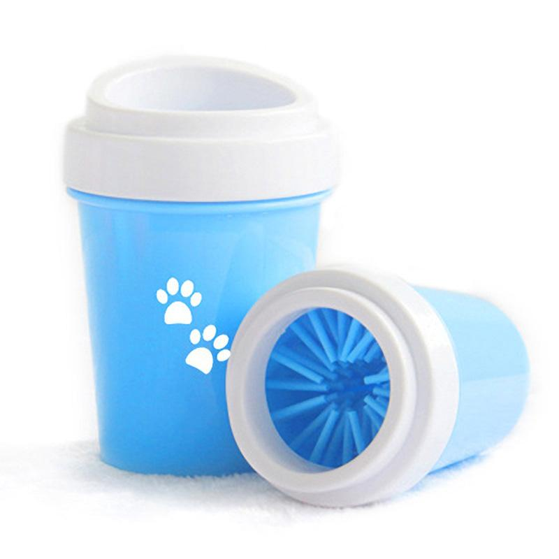 Dog Paw Cleaner Cup Pet Feet Washer Portable Pet Cat Foot Wash Tool