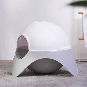 Rocket cat litter box