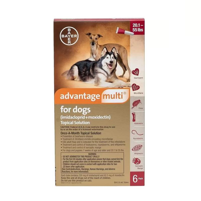 Advantage Multi Topical Treatment Prevention For Cat & Dog