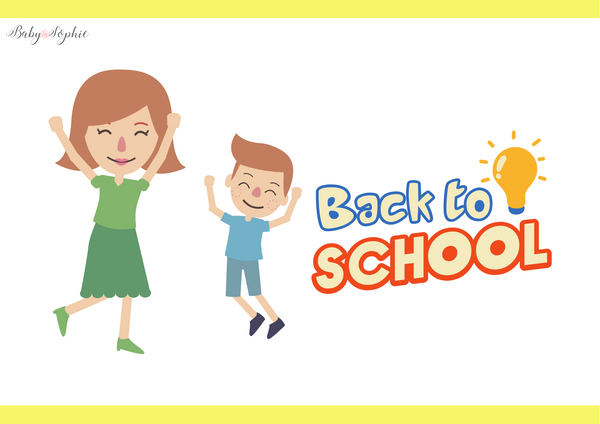 Tips for Back To School | Baby Sophie