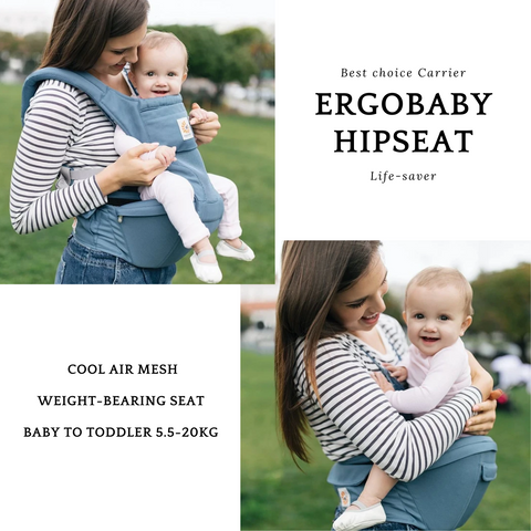 Baby Carrier | Ergobaby Hipseat | Baby Sophie