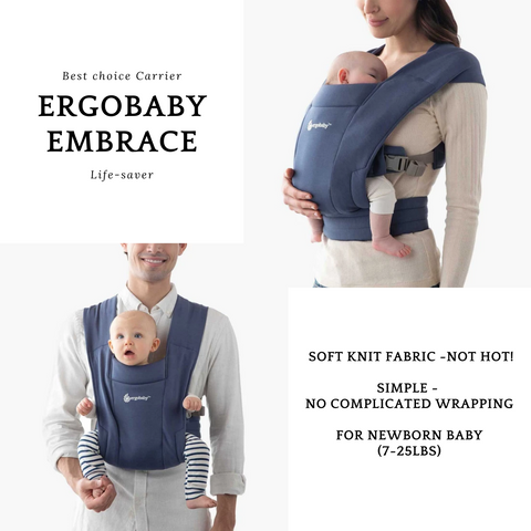 Ergobaby Embrace Carrier | Baby Carrier | Baby Sophie