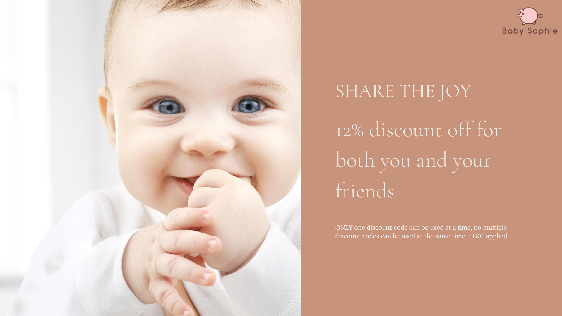 Referral Program | Baby Sophie