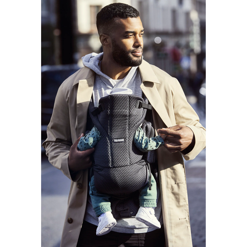 Babybjorn Baby Carrier Move - Anthracite - 3D Mesh