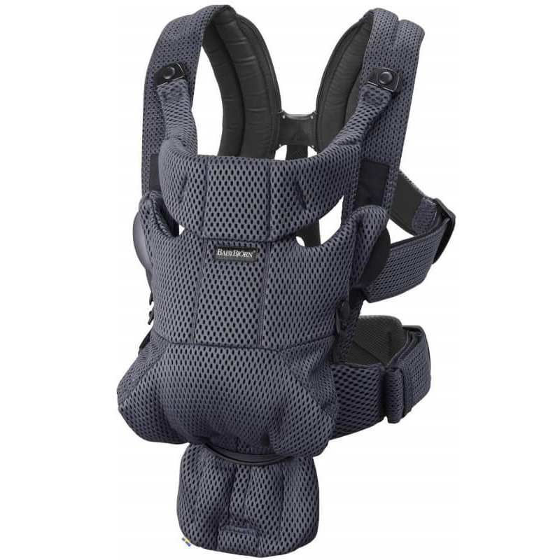 BABYBJORN BABY CARRIER MOVE-ANTHRACITE-3D MESH| BABY SOPHIE