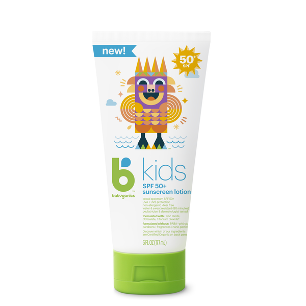 Babyganics Sunscreen Lotion SPF50 6oz