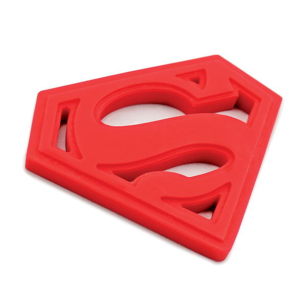 Bumkins Silicone Teether – DC Comics Superman