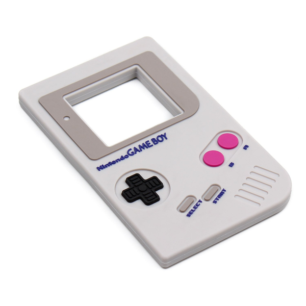 Bumkins Silicone Teether – Nintendo Game Boy