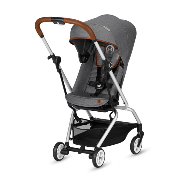 Cybex EEZY S Twist Denim Stroller - Manhattan Grey
