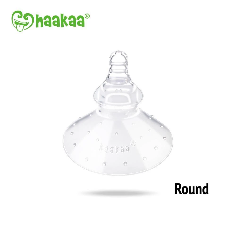 Haakaa Breastfeeding Nipple Shield - Round