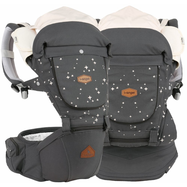 I-Angel 4 Seasons Miracle Hip Seat Carrier - Star Charcoal