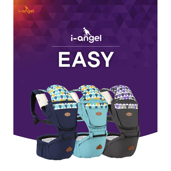 I-Angel Easy Hip Seat Carrier - Navy