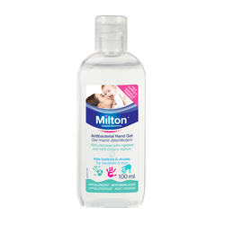 Milton Antibacterial Hand Gel 100ml X 10Pcs